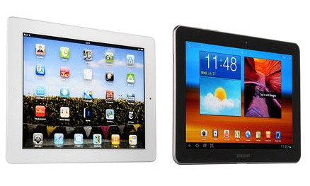 ipad vs android tablet 2013