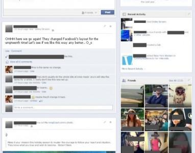 Preparem-se para as reclamações, mais mudanças no Facebook.