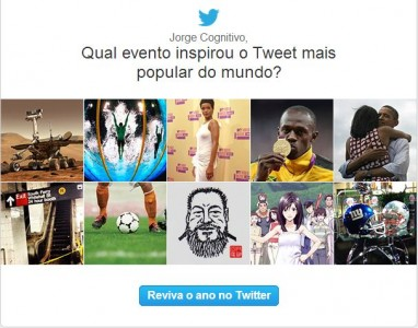 Depois do Facebook, Twitter decide fazer uma retrospectiva de 2012