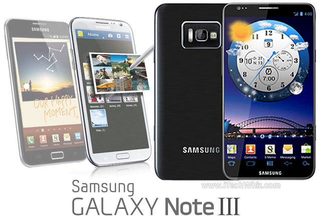 eb5af465b Announced Release Date of Samsung Galaxy Note 3