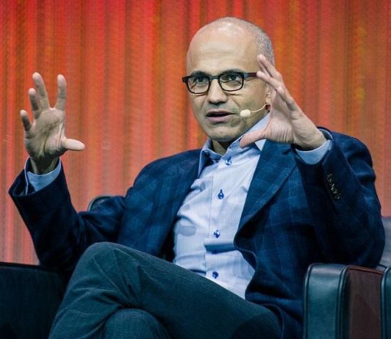 Satya Nadella CEO da Microsoft