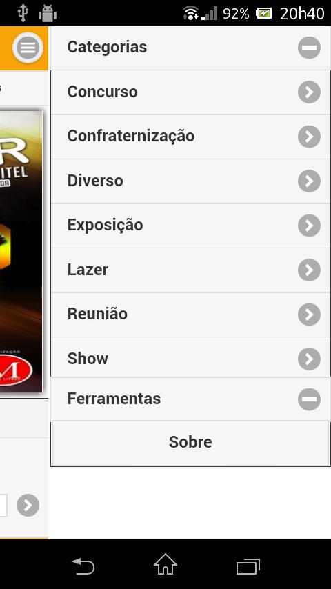 """Imagem do aplicativo """"OndeIr"""""""