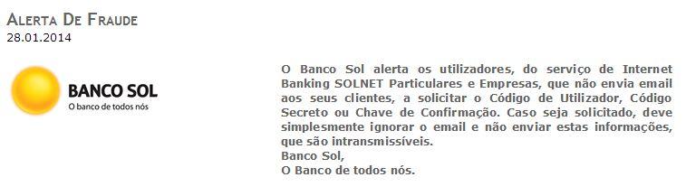 Solnet Banco Sol