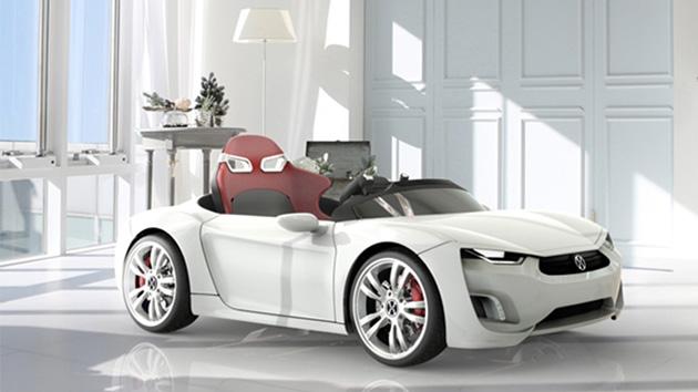 Broon F8, o supercarro para crianças
