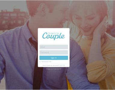 Couple: Um app de comunicação para casais