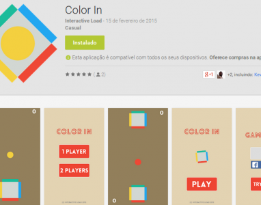 "Baixe gratuitamente o jogo ""Color In"", novo lançamento da Interactive Load"