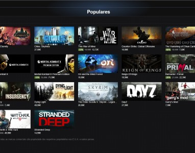 A Steam oferece até 50 jogos durante este fim de semana