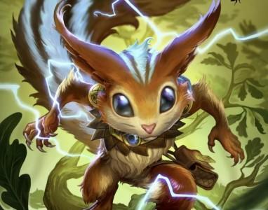 A nova personagem de Smite é um esquilo