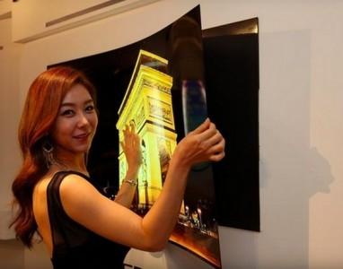 LG apresenta a sua nova TV ultra fina