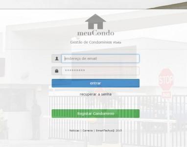 """Teste gratuitamente o """"meuCondo"""" um sistema para gerir condomínios"""