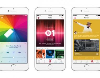 Apple Music, o serviço de streaming de músicas foi revelado
