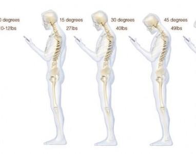 Má postura no uso de telemóvel pode causar dores de cabeça