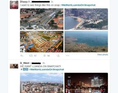 Luanda ganhará destaque no Snapchat?!
