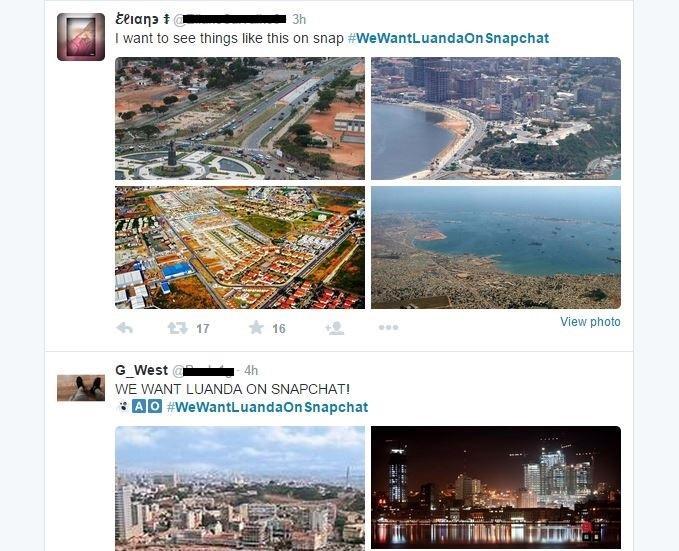 Snapchat-Luanda