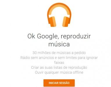 Google Play Music disponibilizará 50 mil músicas gratuitamente