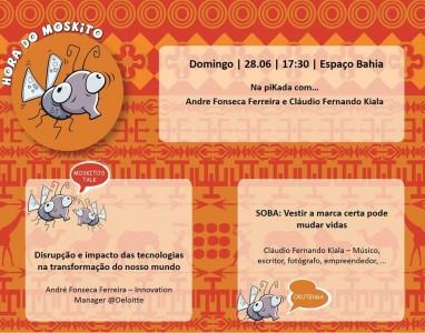Amanhã no espaço Bahia, Hora do Mosquito promove um debate sobre inovação