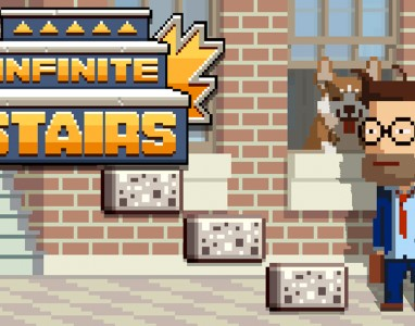 Gameplay de Infinite Stairs, o repensar Flappy Bird