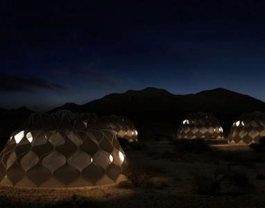 Conheça a tenda do futuro, aproveita energia solar para produzir electricidade