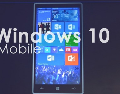 Windows 10 Mobile exige 4,5 GB de espaço livre