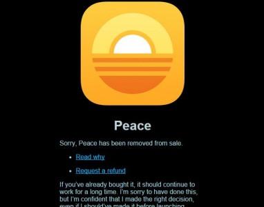 Peace, o aplicativo que bloqueia anúncios no iOS 9 foi removido da App Store