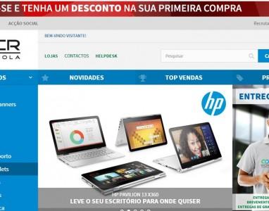 NCR Angola apresenta a sua nova loja online