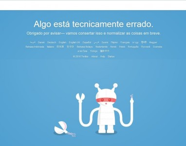 Twitter fora de serviço, será que houve algum ataque?