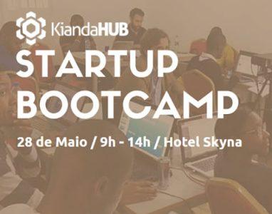 KiandaHub apresenta o 1º Startup Bootcamp em Angola, inscreva-se!