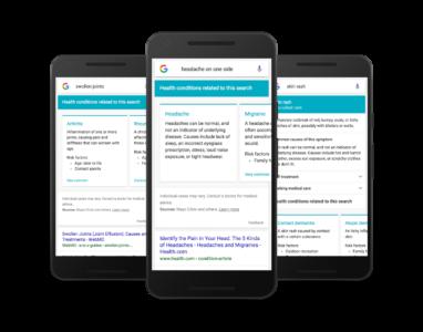 Google melhora a página de buscas para ajudar pessoas doentes
