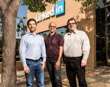 LinkedIn adquirida pela Microsoft por 26 biliões de USD
