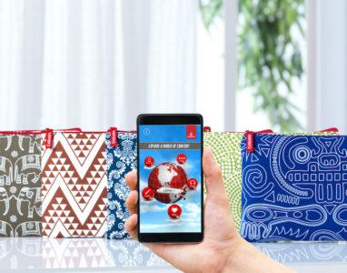 Emirates disponibiliza tecnologia de realidade aumentada para bolsas de cortesia