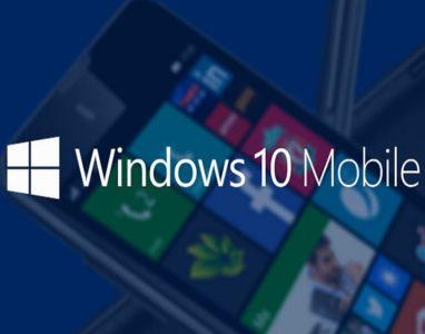 Nova  actualização do Windows 10 Mobile será disponibilizada no dia 09