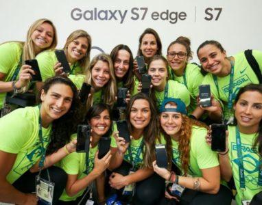 Samsung oferece edição especial do Galaxy S7 à todos atletas nos jogos olímpicos 2016