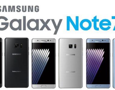 Samsung Galaxy Note 7 foi oficialmente apresentado