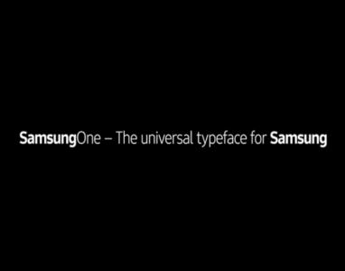 Samsung desenvolveu a sua própria fonte chamada SamsungOne