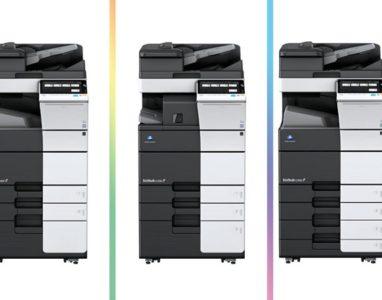 Konica lança nova impressoras para escritórios