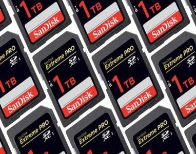 SanDisk lança o primeiro cartão de memória de 1TB