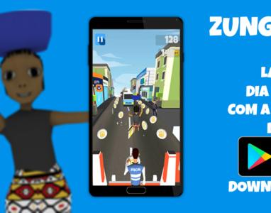 """Lançamento oficial do jogo """"Zungueira Run"""" acontece hoje"""