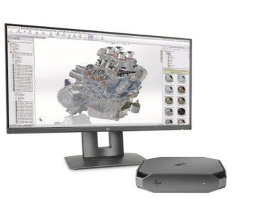 HP lançou uma mini estação de trabalho com design fora do padrão