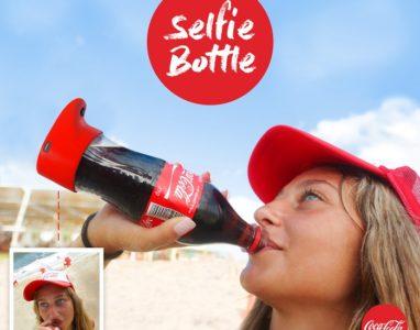 Coca-Cola cria garrafa que tira selfies quando você bebe