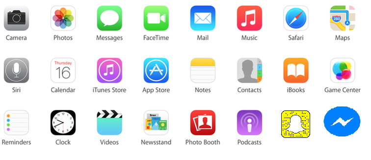 recently downloaded apps
