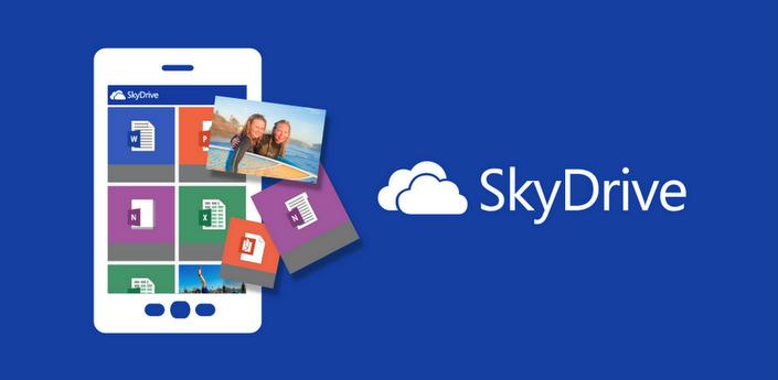 Aplicativo Skydrive na Play Store - menosfios.com