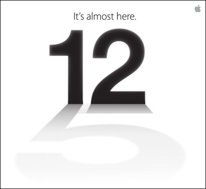 Confirmado evento Apple iPhone 5