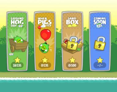 Depois de Angry Birds, a Rovio ataca com mais um sucesso: Bad Piggies