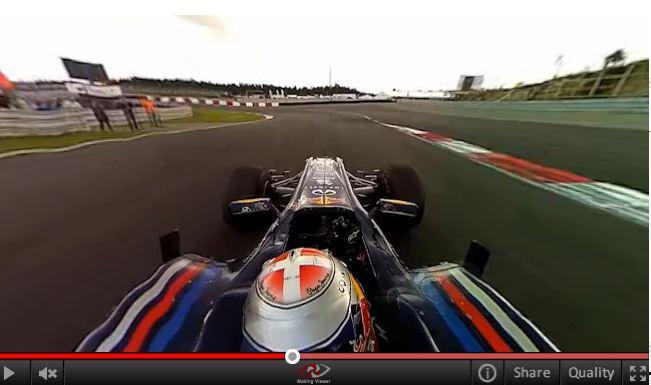 video 360 da Redbull