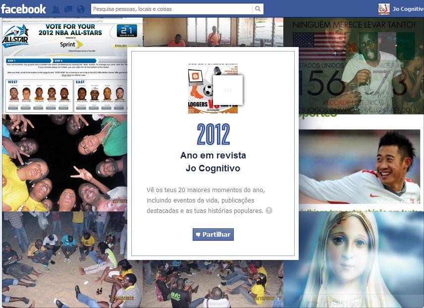 retrospectiva do Facebook...