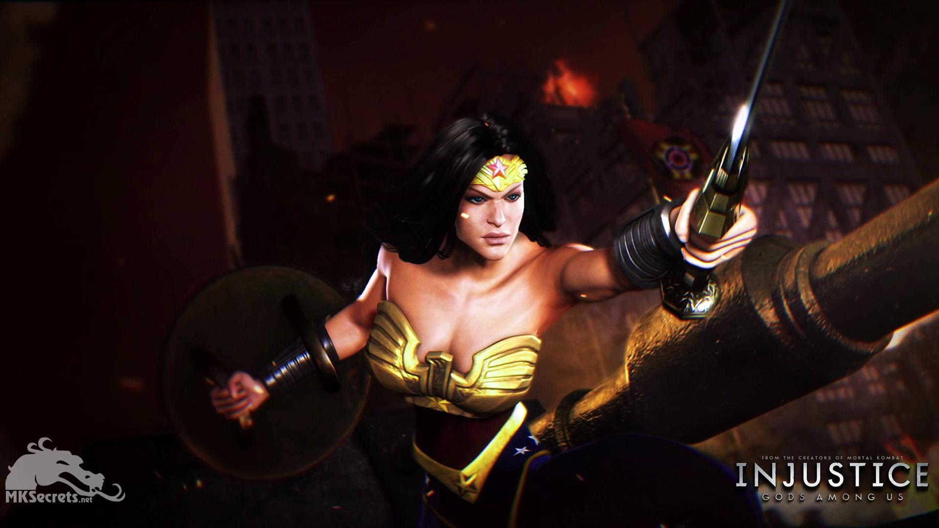 Injustice Gods Among Us Wallpaper Wonder Woman