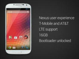 Galaxy S4 da Google