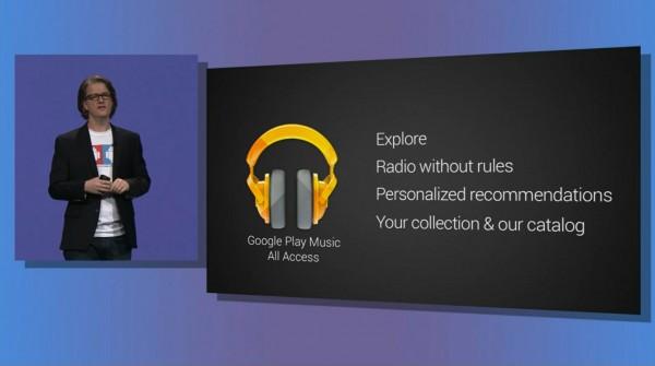 Acesso total - Google Music
