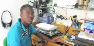 Mestre 30, fala sobre reparação de consolas...