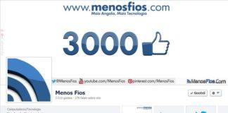 """MenosFios e os seus 3 mil """"likes"""""""
